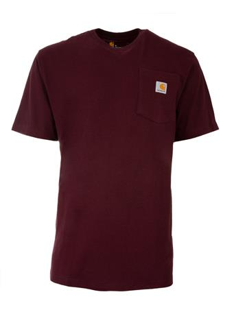 Maroon Carhartt Original Fit T-Shirt
