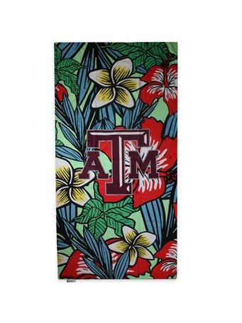 Texas A&M Polynesian Beach Towel