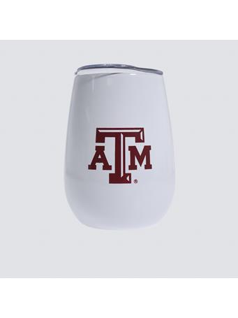 Texas A&M Cabernet Wine Goblet