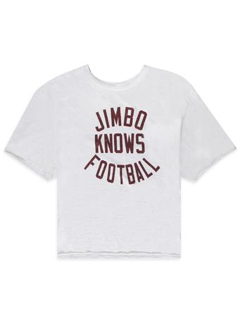 Jimbo Women's Crop with Raw Edge