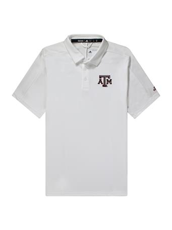Texas A&M Adidas Game Mode Polo