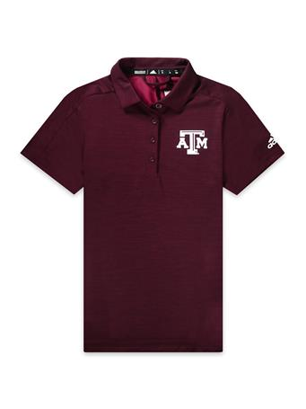Texas A&M Adidas Game Mode Women's Polo