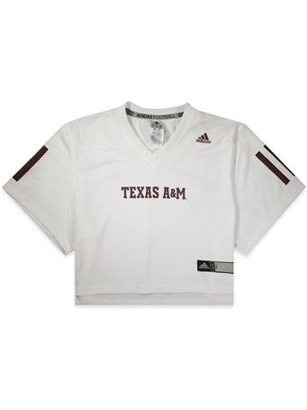 Texas A&M Adidas Women's Crop Jersey