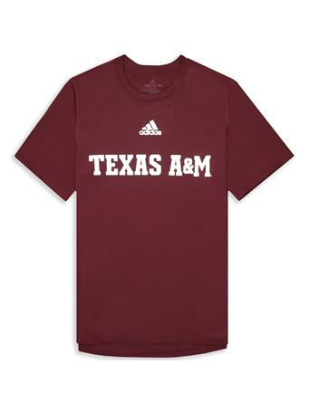 Texas A&M Adidas Locker Official Font Creators T-Shirt