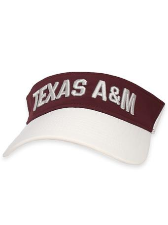 Texas A&M Adidas Coaches Thin Visor