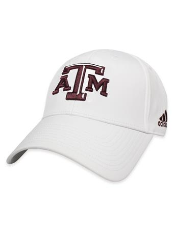 Texas A&M Adidas Structured Coaches Cap