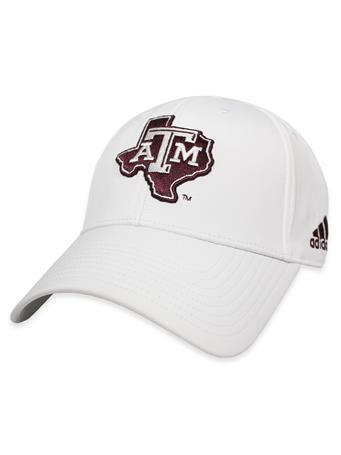 Texas A&M Adidas Coaches Lone Star Structured Cap