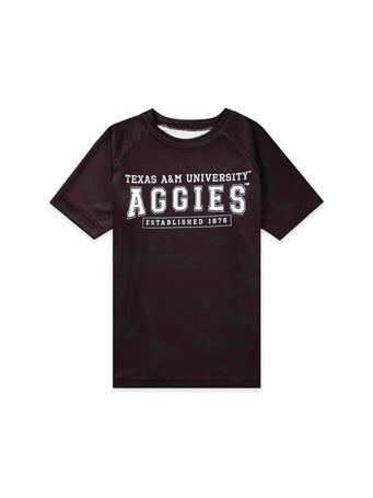 Texas A&M Garb Hayes Toddler Camo Tee