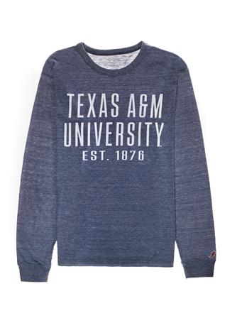 Texas A&M League Long Sleeve Twisted Triblend