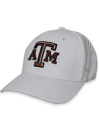 Texas A&M Tower Fitted Grey Hat