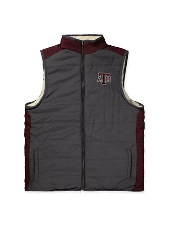 Texas A&M Colosseum Men's Blinky Reversible Vest
