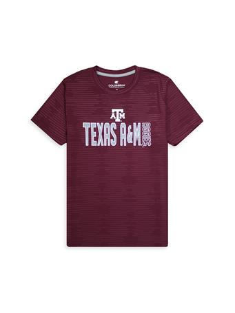 Texas A&M Aggies Colosseum Larry Performance Tee