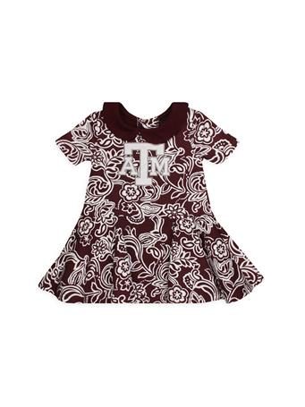 Texas A&M Sasha Infant Onesie Dress