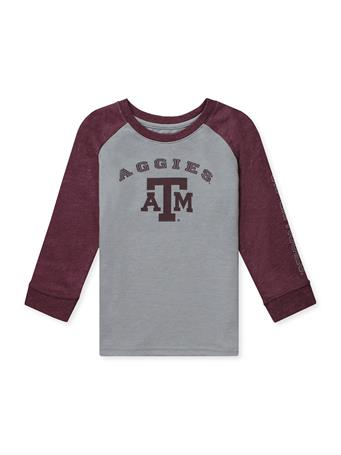 Texas A&M Colosseum  Animaniacs Toddler Boys Raglan LS Tee