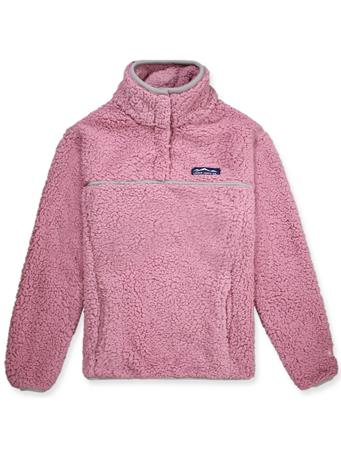 Lauren James Pink Alpine Sherpa Pullover