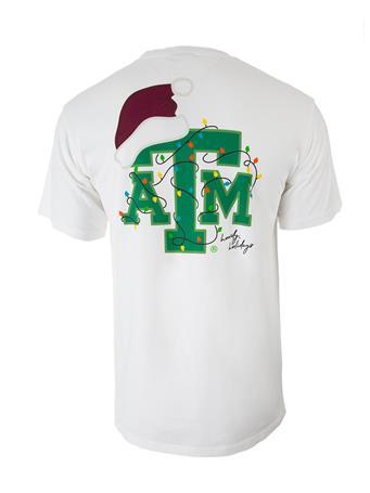 Texas A&M Christmas Lights T-Shirt