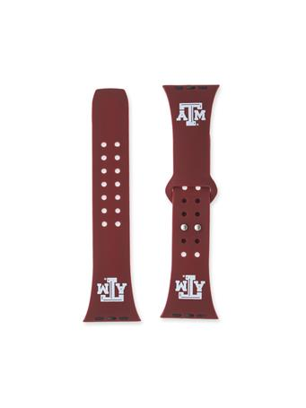 Texas A&M Silicon Apple Watch Band