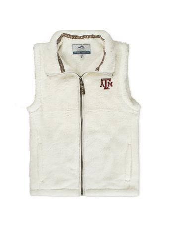 Texas A&M Ladies Double Plush Vest