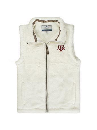 Texas A&M Ladies Double Plush Vest