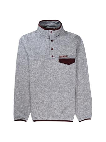 Texas A&M Snap Placket Sweater