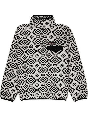 Texas A&M Patterned Snap Placket Fleece