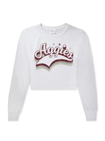 Texas A&M Aggies ZooZatz Success Crop Long Sleeve
