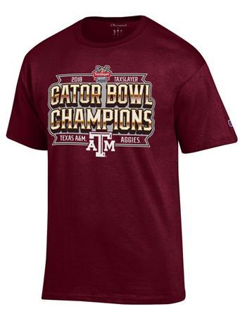 Texas A&M Bowl Champions T-Shirt