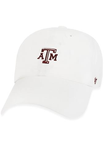 Texas A&M '47 Brand Centerfield Clean Up Cap