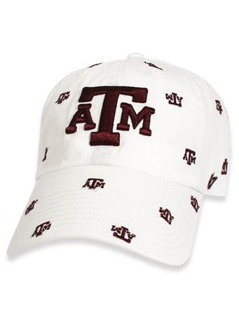 Texas A&M '47 Brand Women's Repeating Clean Up Cap