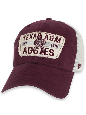 Texas A&M '47 Brand Crawford Clean Up Snapback