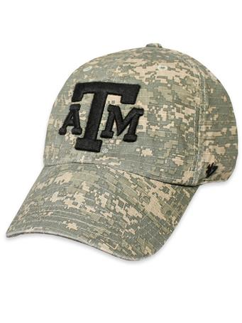 Texas A&M '47 Brand Digital Camo Nilan OHT Cap