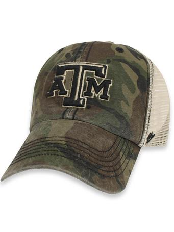 Texas A&M '47 Brand OHT Sandalwood Mesh Cap