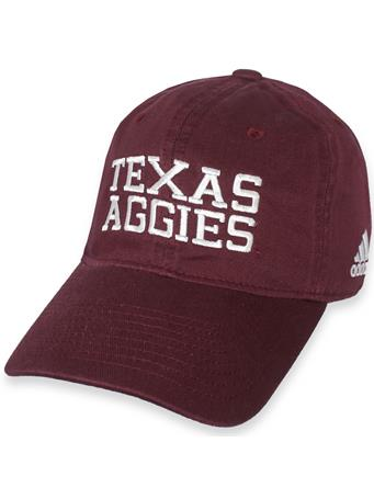 Texas A&M Adidas Adjustable Slouch Cap