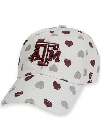 Texas A&M '47 Brand Hearts Toddler Cap