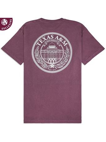 Texas A&M Academic Building Seal T-Shirt