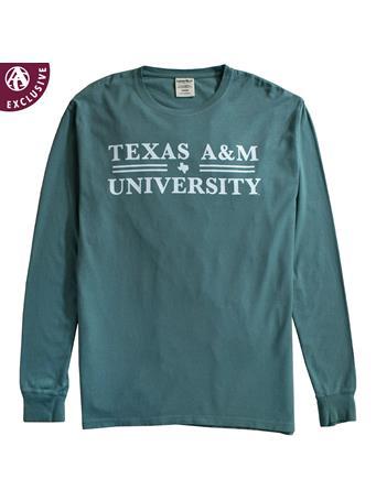 Texas A&M Double Line Texas Long Sleeve T-Shirt