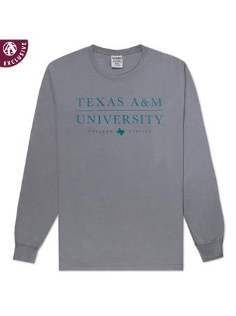 Texas A&M College Station Texas Long Sleeve T-Shirt