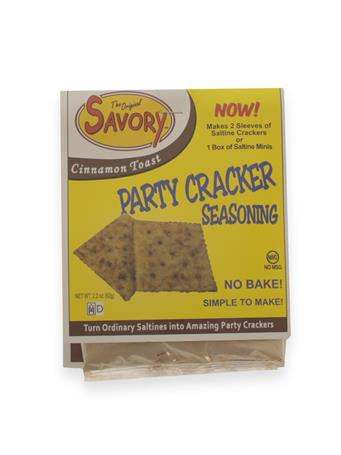 Original Savory Cinnamon Toast No Bake Party Cracker Seasoning
