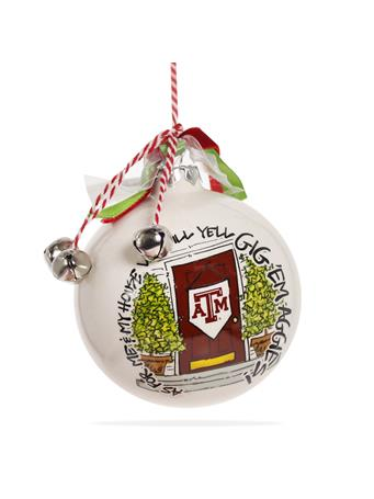 Texas A&M Magnolia Lane My House Ornament