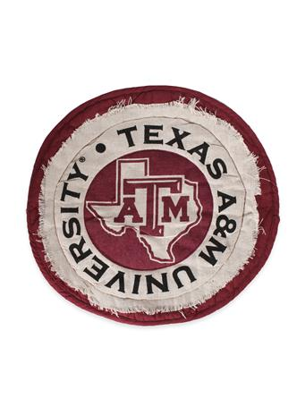 Texas A&M Circle Place Mat