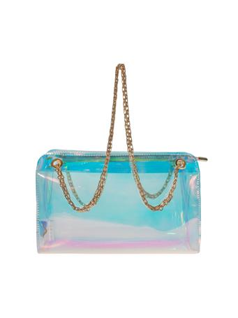 Swing Iridescent Double Bag