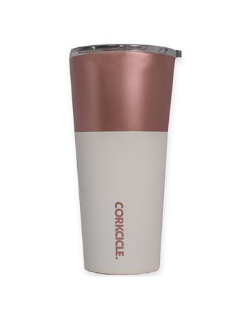 Corkcicle 16oz Modern Rose Tumbler