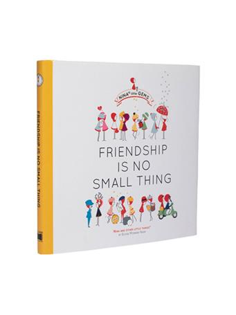 Friendship Is No Small Thing Book