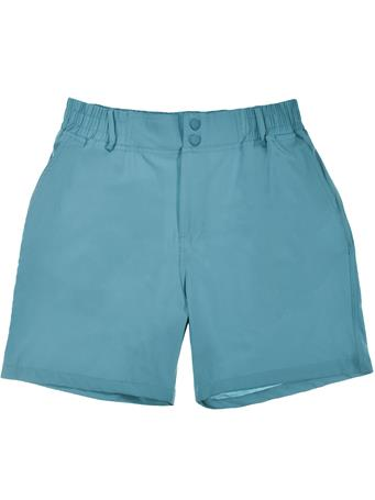 BURLEBO Ice Blue Trout Pocket Shorts