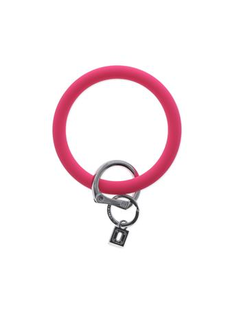 Big O Key Rings Tickled Pink Silicone
