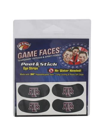 Texas A&M Temporary Eye Blacks