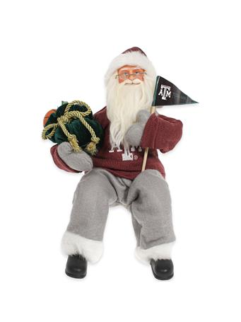 Texas A&M Musical Santa Figure