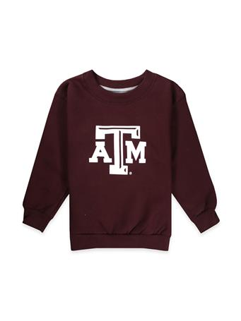Texas A&M Infant/Toddler Fleece-Lined Crew