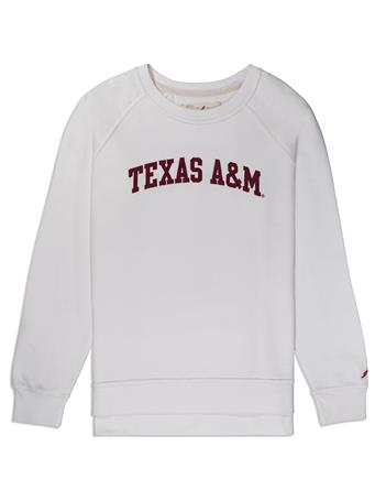 Texas A&M League Academy Crew Pullover