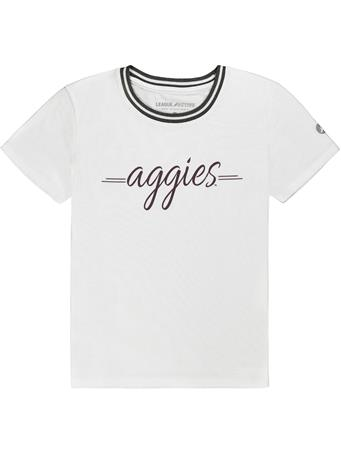 Texas A&M Aggies Tri-Flex Retro Ringer Tee